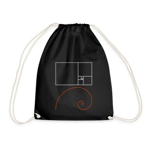 Goldene Spirale, Cotton Gym Bag - Turnbeutel
