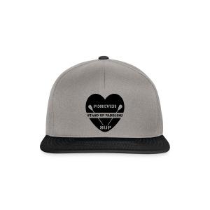 Snapback Cap: Forever SUP (dunkles Motiv) - Snapback Cap
