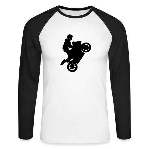 Wheeling1 - T-shirt baseball manches longues Homme