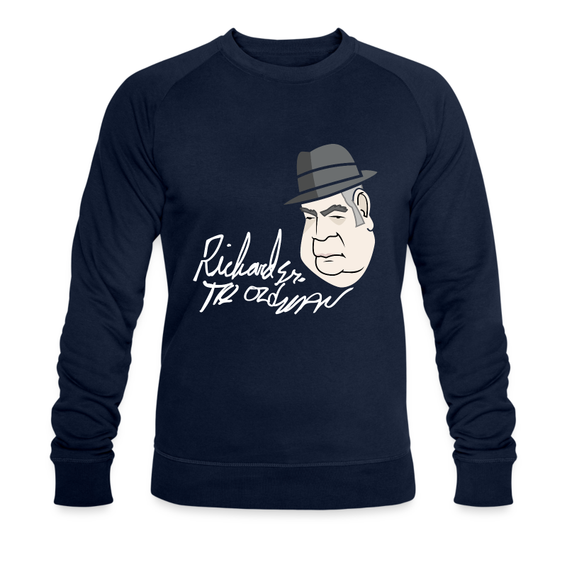 Richard The old Man Harrison - Men's Organic Sweatshirt by Stanley & Stella