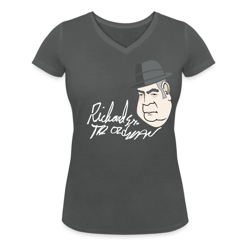 Richard The old Man Harrison - Women's Organic V-Neck T-Shirt by Stanley & Stella