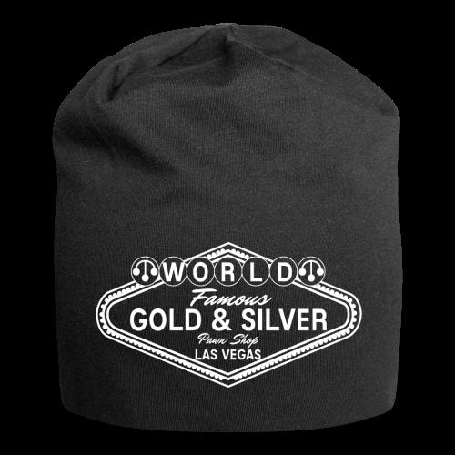 Gold & Silver Pawn Shop Logo à la Las Vegas - Jersey Beanie