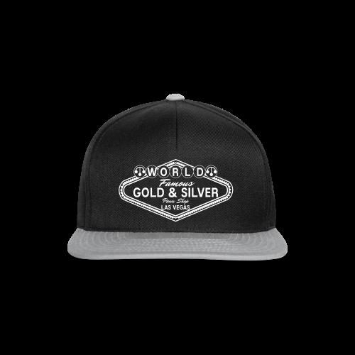 Gold & Silver Pawn Shop Logo à la Las Vegas - Snapback Cap