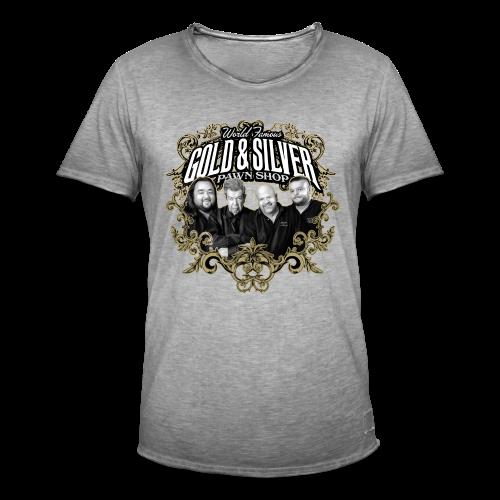 World Famous Gold & Silver Pawn Shop Stars - Men's Vintage T-Shirt