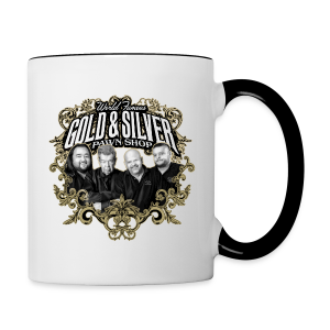 World Famous Gold & Silver Pawn Shop Stars - Contrasting Mug