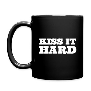 KISS IT HARD MUG - Full Colour Mug