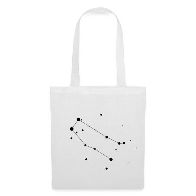 Gemini Constellation Tote Bag