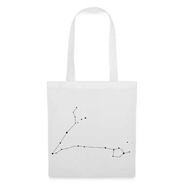 White Pisces Constellation Bags
