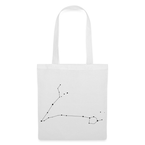 Pisces Constellation Tote Bag - Tote Bag