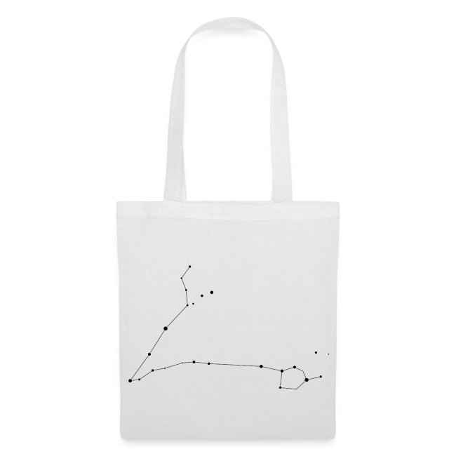 Pisces Constellation Tote Bag