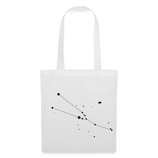 Taurus Constellation Tote Bag
