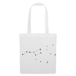 Ursa Major (Plough, Big Dipper) Constellation Tote Bag - Tote Bag
