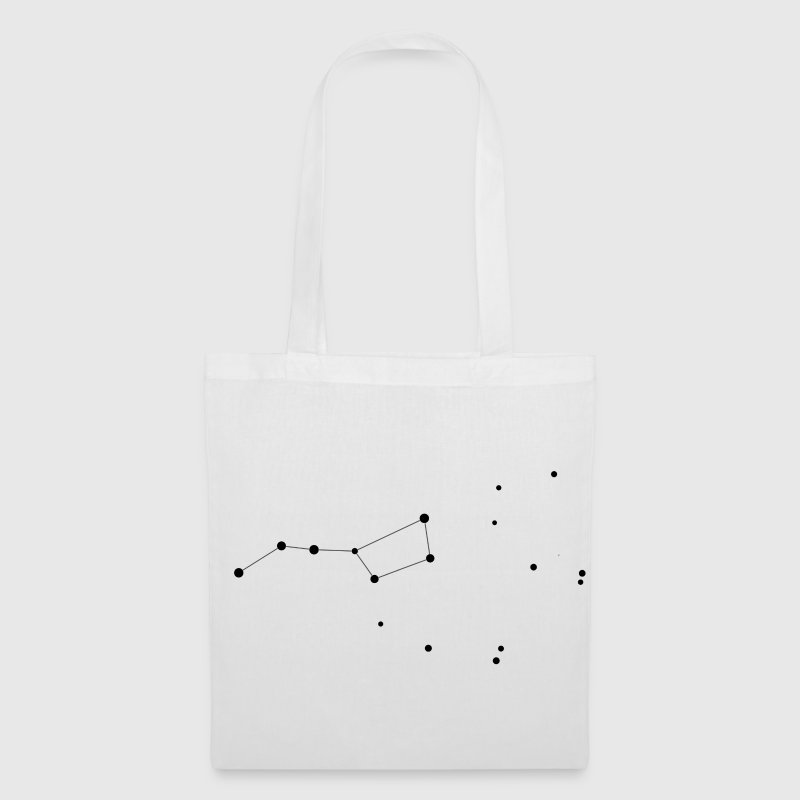 White Ursa Major - The Big Dipper - The Plough Bags  - Tote Bag
