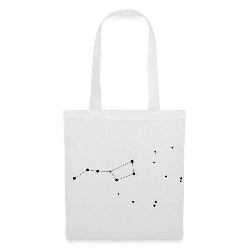 Ursa Major (Plough, Big Dipper) Constellation Tote Bag - Tote Bag