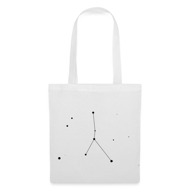 Cancer Constellation Tote Bag