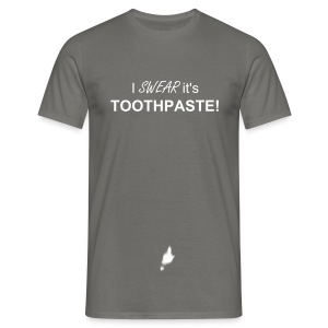 Toothpaste - Men's T-Shirt