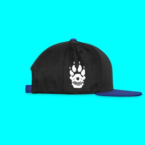 Snapback Cap, Valkoinen SUSI-LOGO ja SUSI-TEKSTI - Snapback Cap