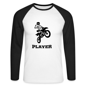 player - T-shirt baseball manches longues Homme