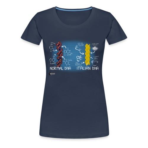 Italian DNA - Women's Premium T-Shirt