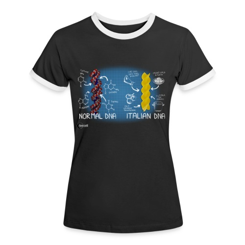 Italian DNA - Women's Ringer T-Shirt