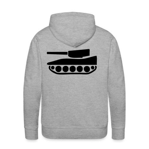 bluza w czołg - Bluza męska Premium z kapturem