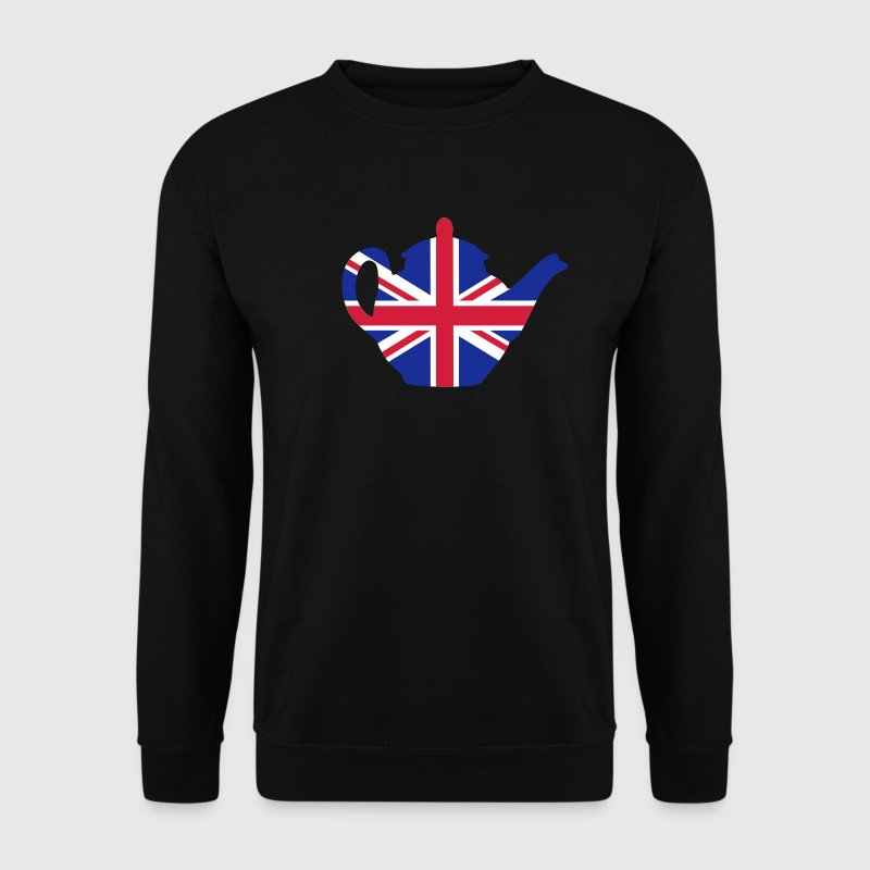 Black British teapot 3clr Jumpers - Men's Sweatshirt