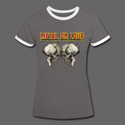Metal On Loud T-Shirt WOMEN - Women's Ringer T-Shirt