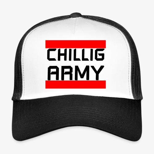Chillig Army Cap - Trucker Cap