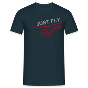 JUST FLY Helicopters - Männer T-Shirt