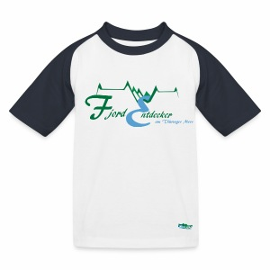Kinder Baseball T-Shirt Fjordentdecker - Kinder Baseball T-Shirt