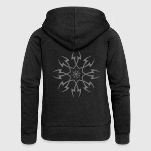 Tribal Design 12 - Women's Premium Hooded Jacket