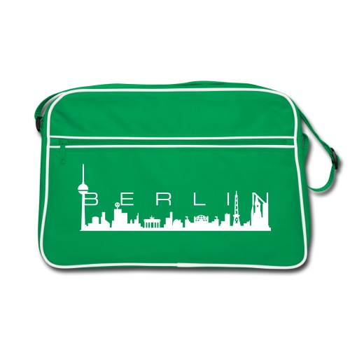 BERLIN SKYLINE Retrobag - Retro Tasche