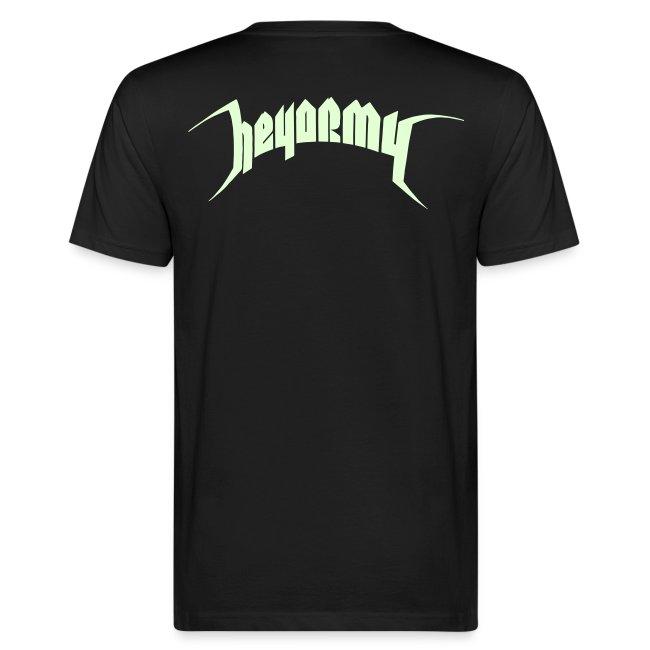 Heyshop Glow In The Dark T Manner Bio T Shirt