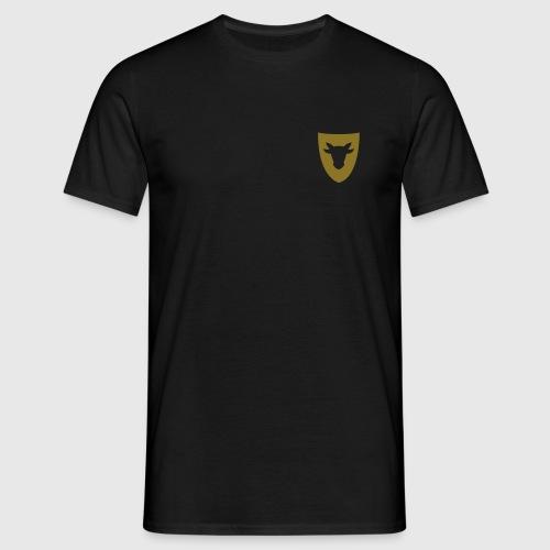 Herren T-Shirt – Ochsenwappen klein - Männer T-Shirt