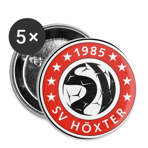 5 Ansteck-Buttons - Buttons klein 25 mm