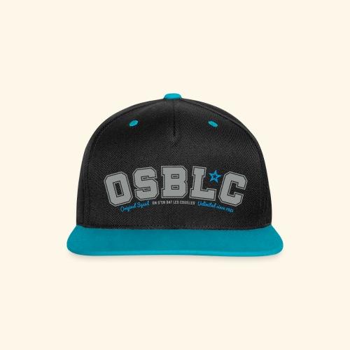 Snapback OSBLC - Casquette Snapback contrastée
