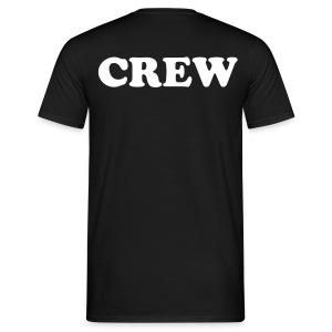crew ( @ backside) - Mannen T-shirt