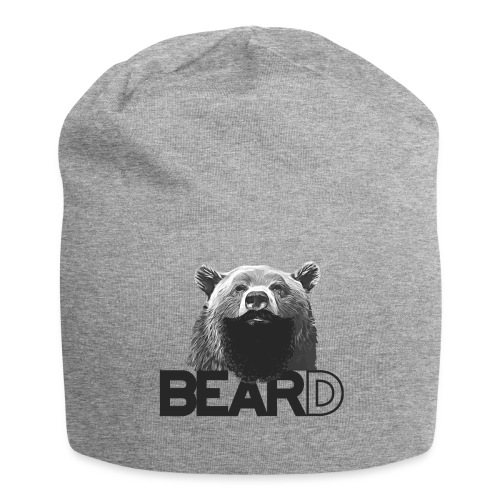 Bear and beard - Jersey Beanie
