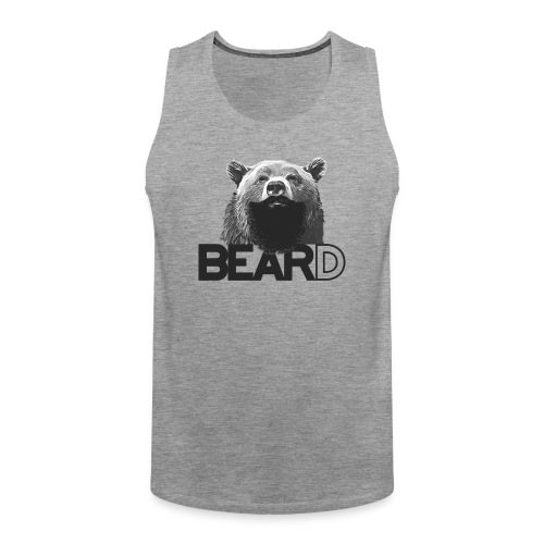 Bear and beard - Men's Premium Tank Top