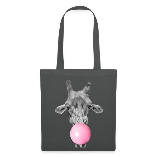 Giraffe bubblegum - Tote Bag