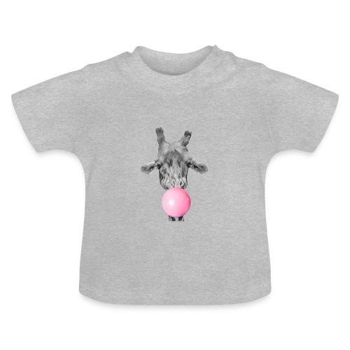 Giraffe bubblegum - Baby T-Shirt