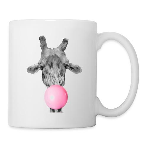 Giraffe bubblegum - Mug