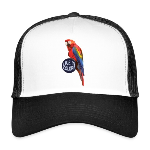 Parrot - Live in colors - Trucker Cap