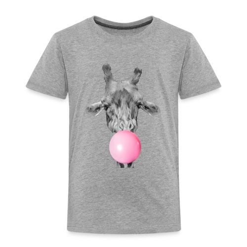 Giraffe bubblegum - Kids' Premium T-Shirt