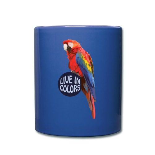Parrot - Live in colors - Full Colour Mug