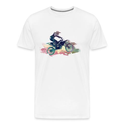 Dirt Bike T-Shirts - Männer Premium T-Shirt