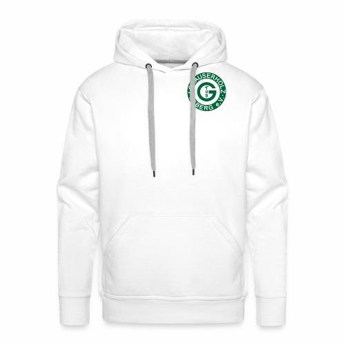 Pullover white - Männer Premium Hoodie