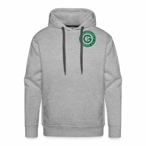 Pullover grey - Männer Premium Hoodie