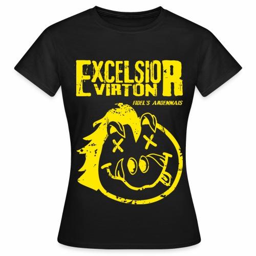 T-Shirt Nirvana femme - Version R.E. Virton - T-shirt Femme