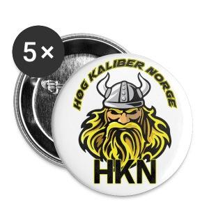 HKN Buttons/knapper. - Liten pin 25 mm